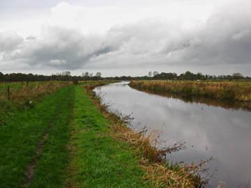 Rondwandeling Roden-Lieveren, langs waterloop en landerijen (10km)