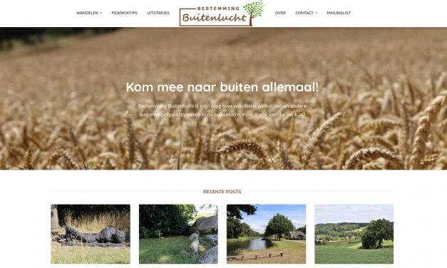Een leuk blog over wandelingen in de kop van Drenthe